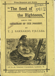 Dr. Barnardo leaflet, Seed of the Righteous 5413 cover